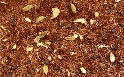 Rooibos Chai Massai con especias y naranja