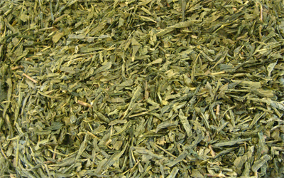 té verde bancha japonés de cosecha tardía