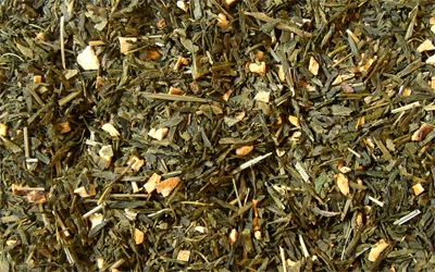 té verde japonés lima japonesa con cítricos