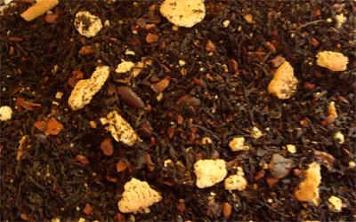 té negro tiramisú con cacao avellana y galletas